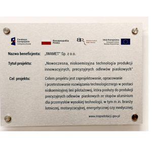 tablica reklamowa dotacje UE